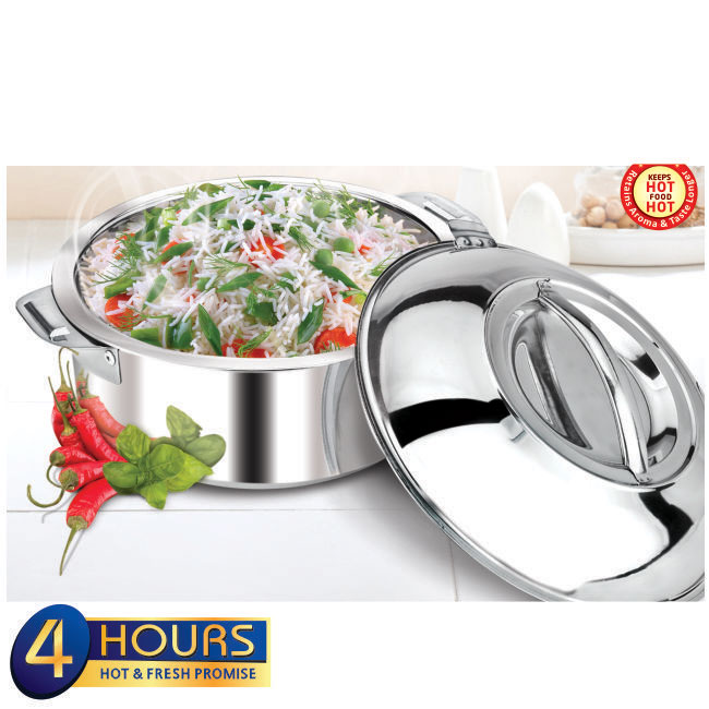 Stainless Steel Hot Serve