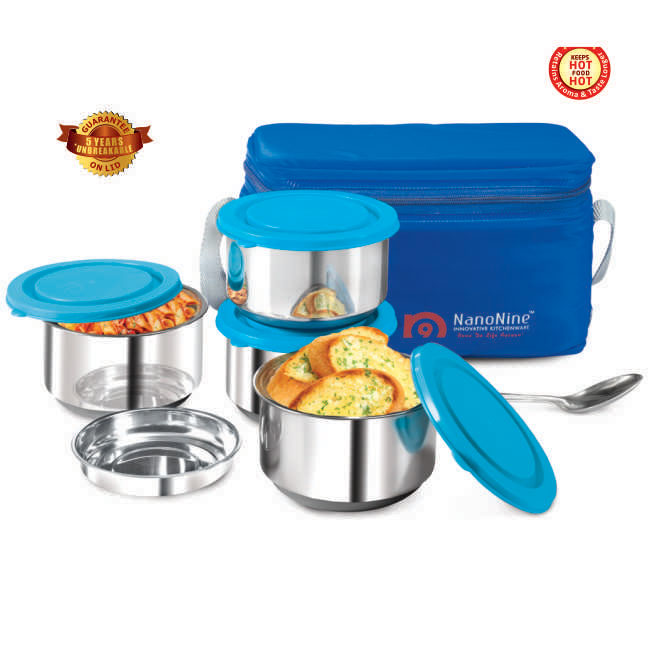 Stainless Steel Mid-Day 4 Pack