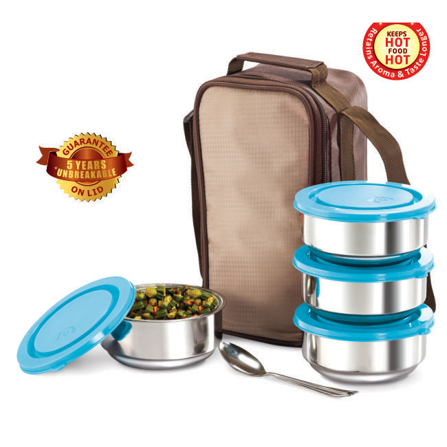 Stainless Steel Tiffiny 4 Pack