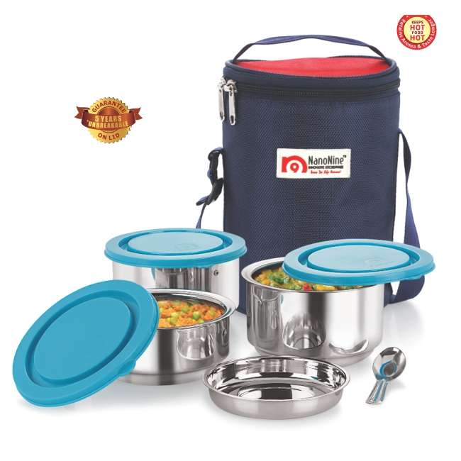 Stainless Steel Tiffiny Meal Pack No.3