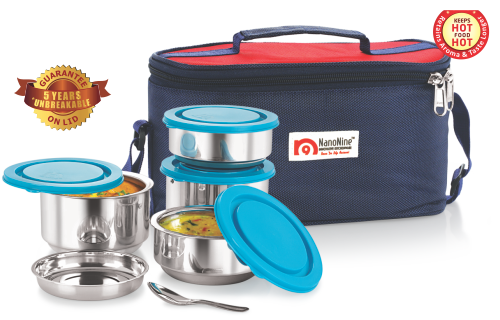 Stainless Steel Tiffiny Meal Pack No.4